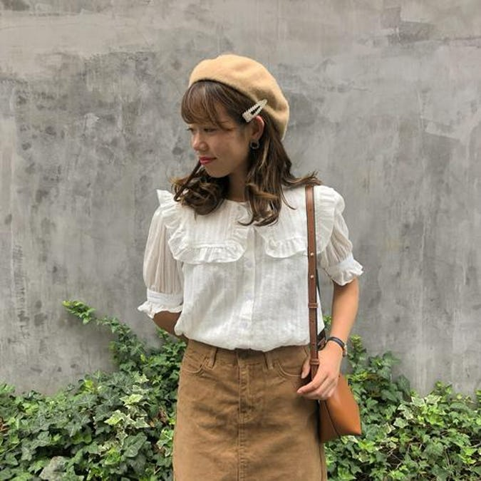 square frill blouse-0