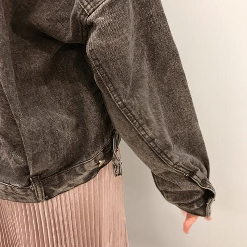 black denim jacket-0
