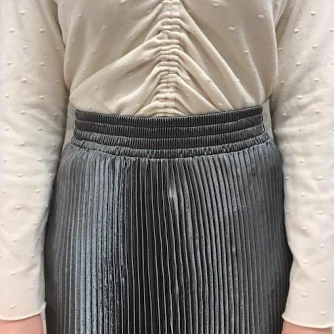 グリッターロングスカート