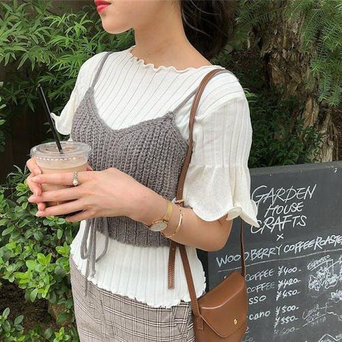 angel frill knit