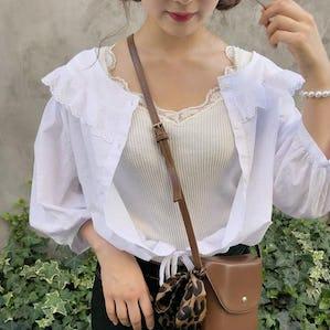 angel crob blouse