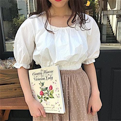 square crob blouse