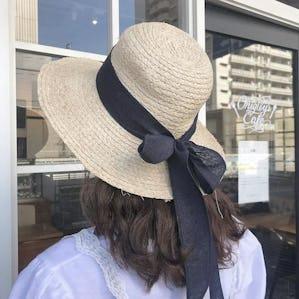 ribbon flow hat