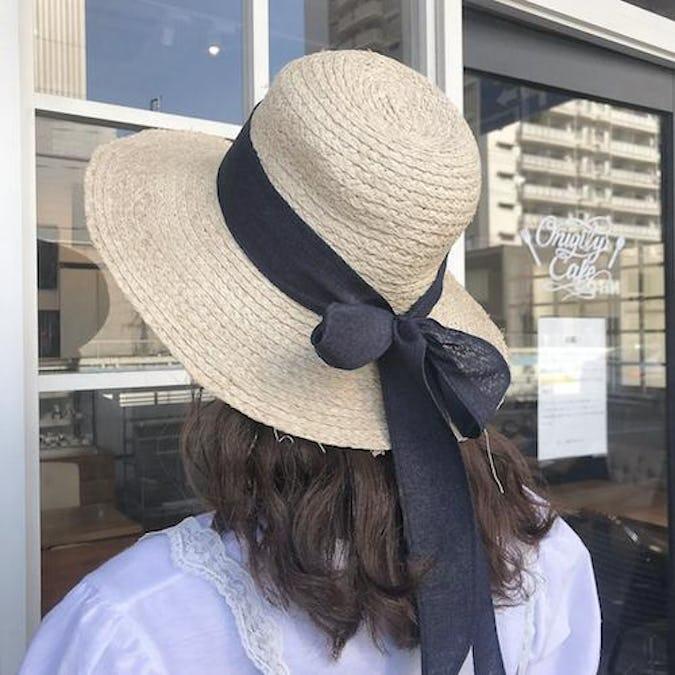 ribbon flow hat-0