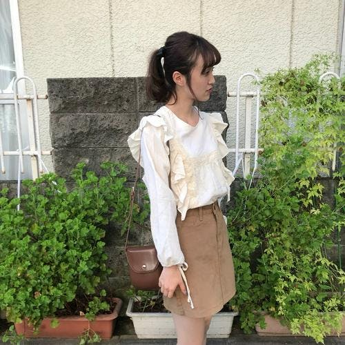 pure berry blouse