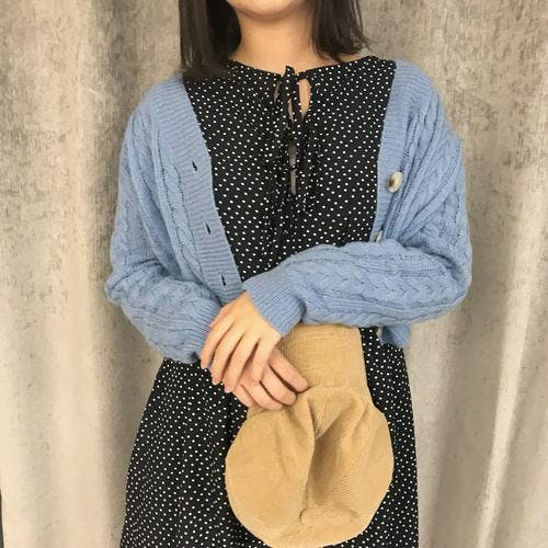 crob knit cardigan