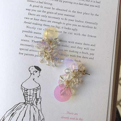 jewelry glitter pierce-0