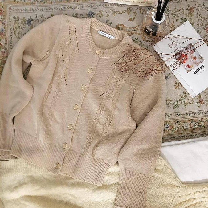 shine button cardigan