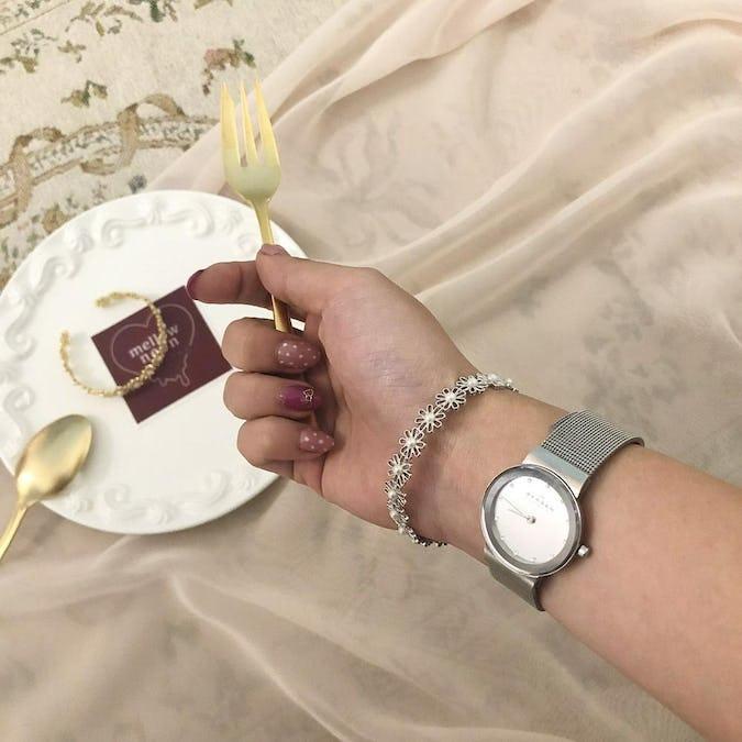 pearl antique bracelet