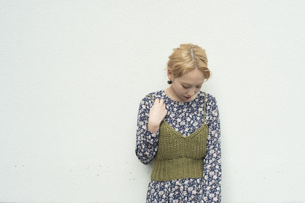 knit bustier-0