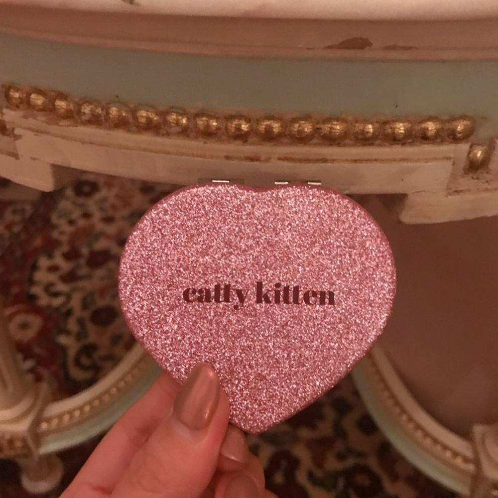 catty heart mirror-0