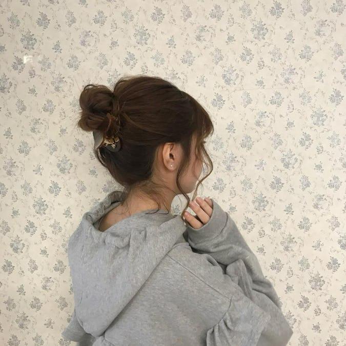 【3ピース】ビッグハートバレッタセット