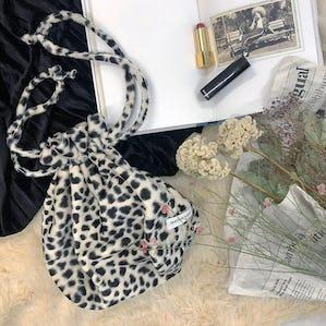 dalmatian pouch bag