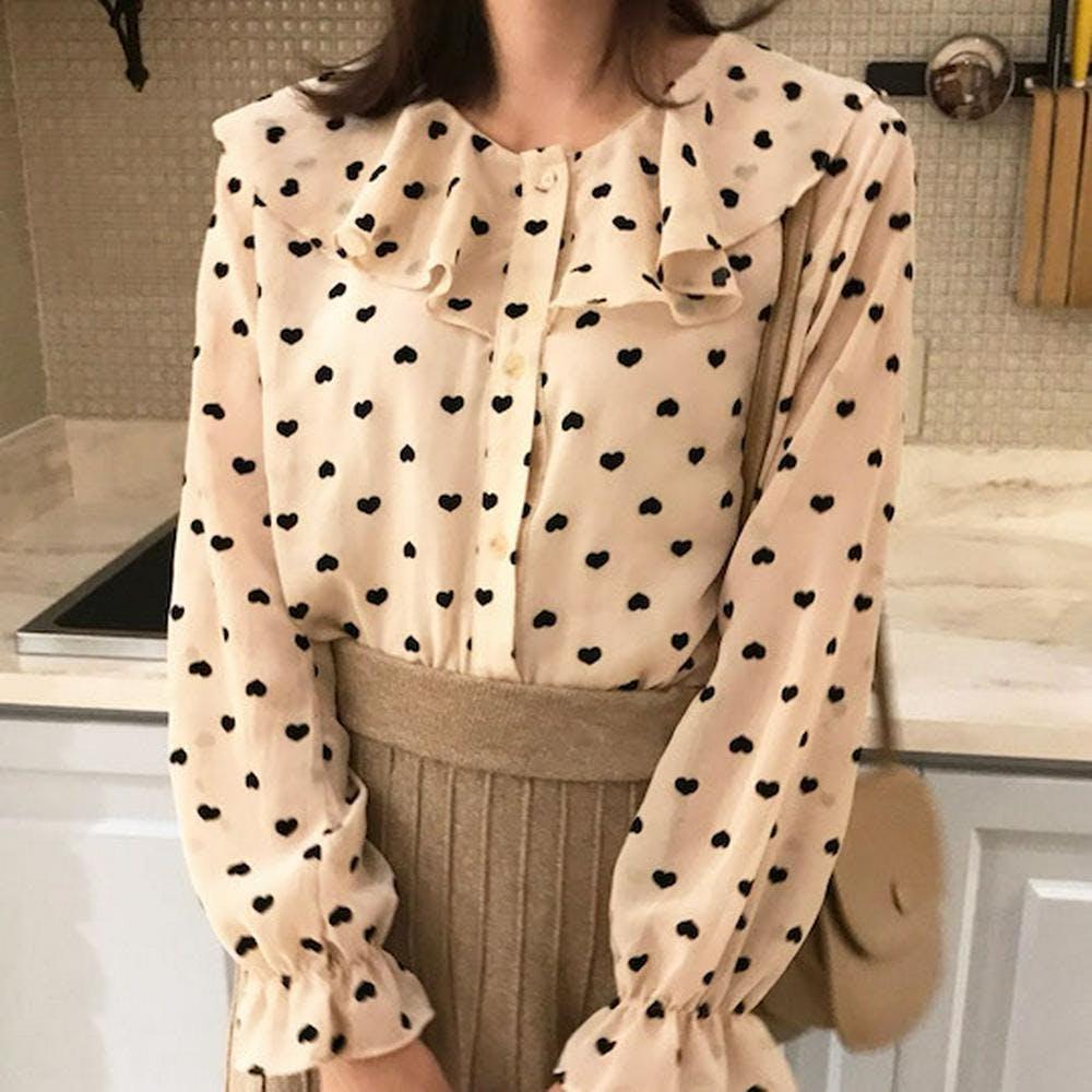 heart blouse-0