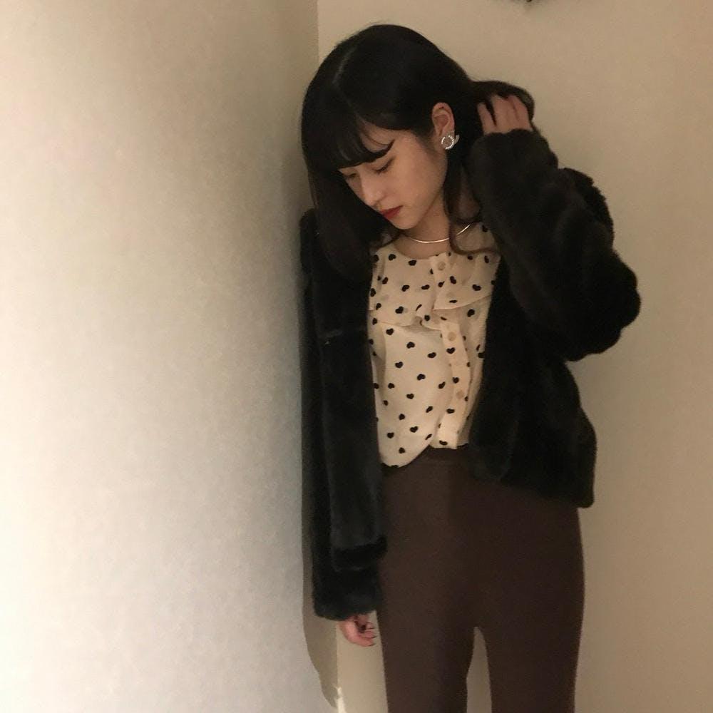 heart blouse