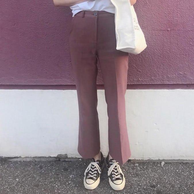 【6/26~順次発送】grape pants