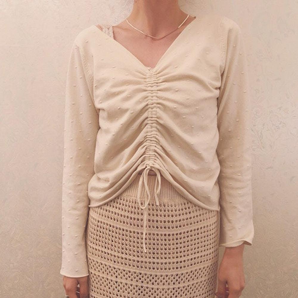 baby dot knit-0