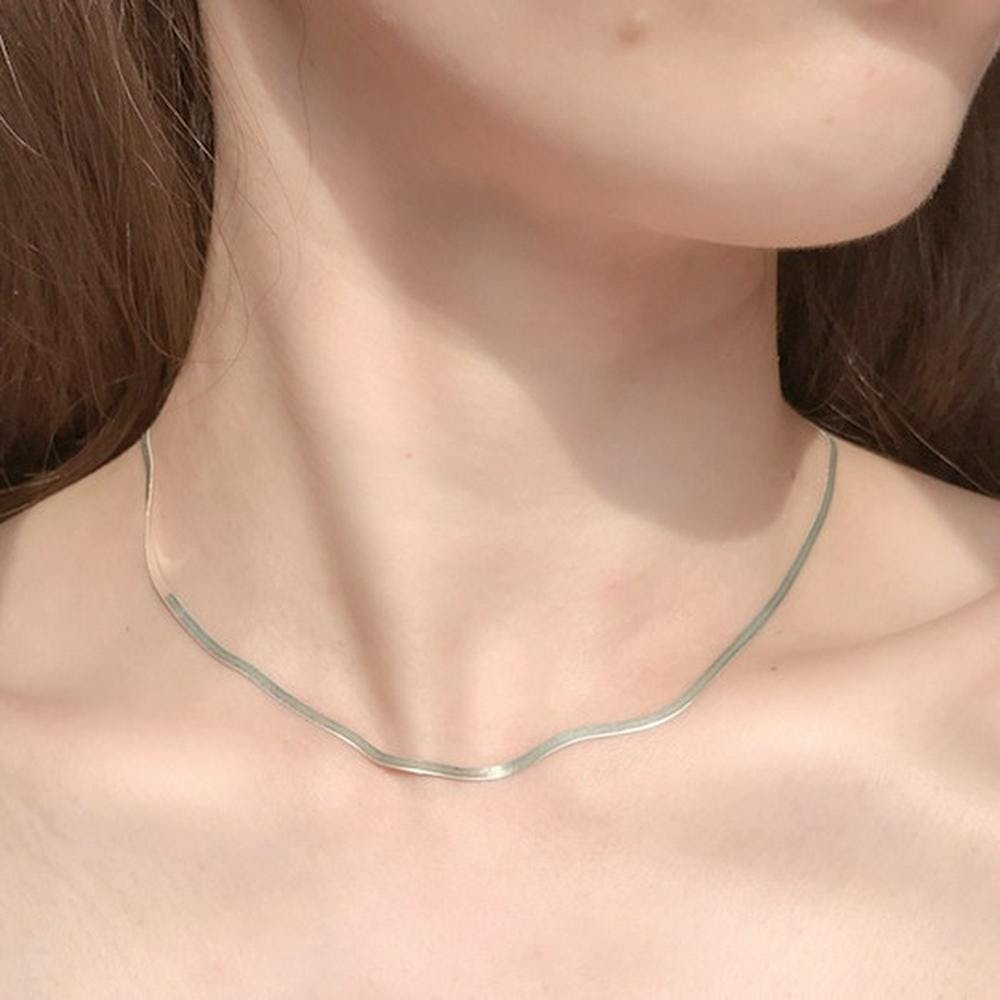 snake necklace-0