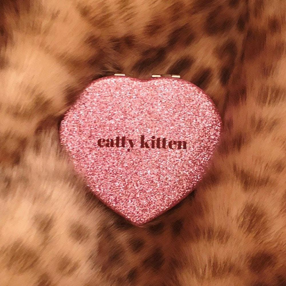 catty heart mirror