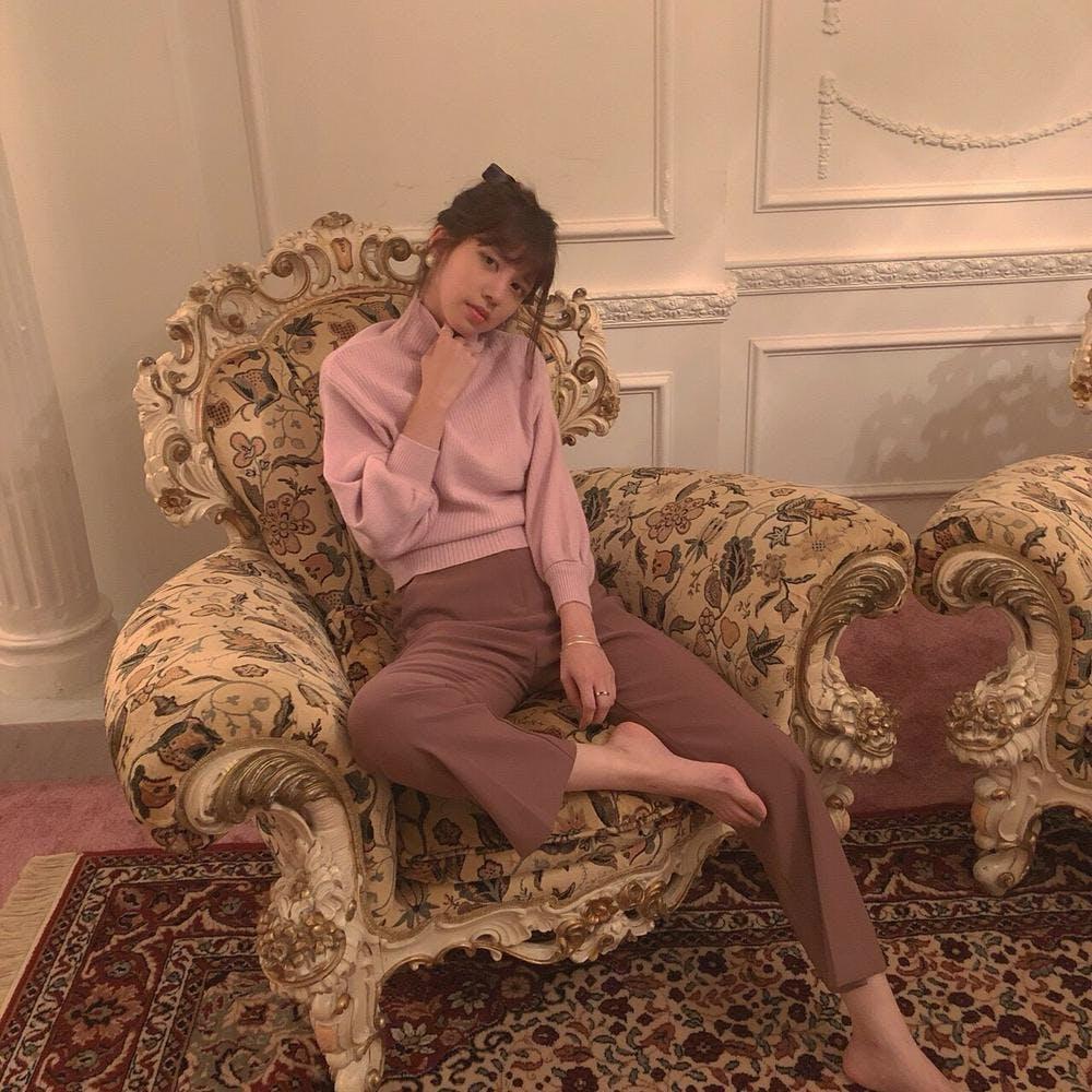 【4/17~順次発送】grape pants