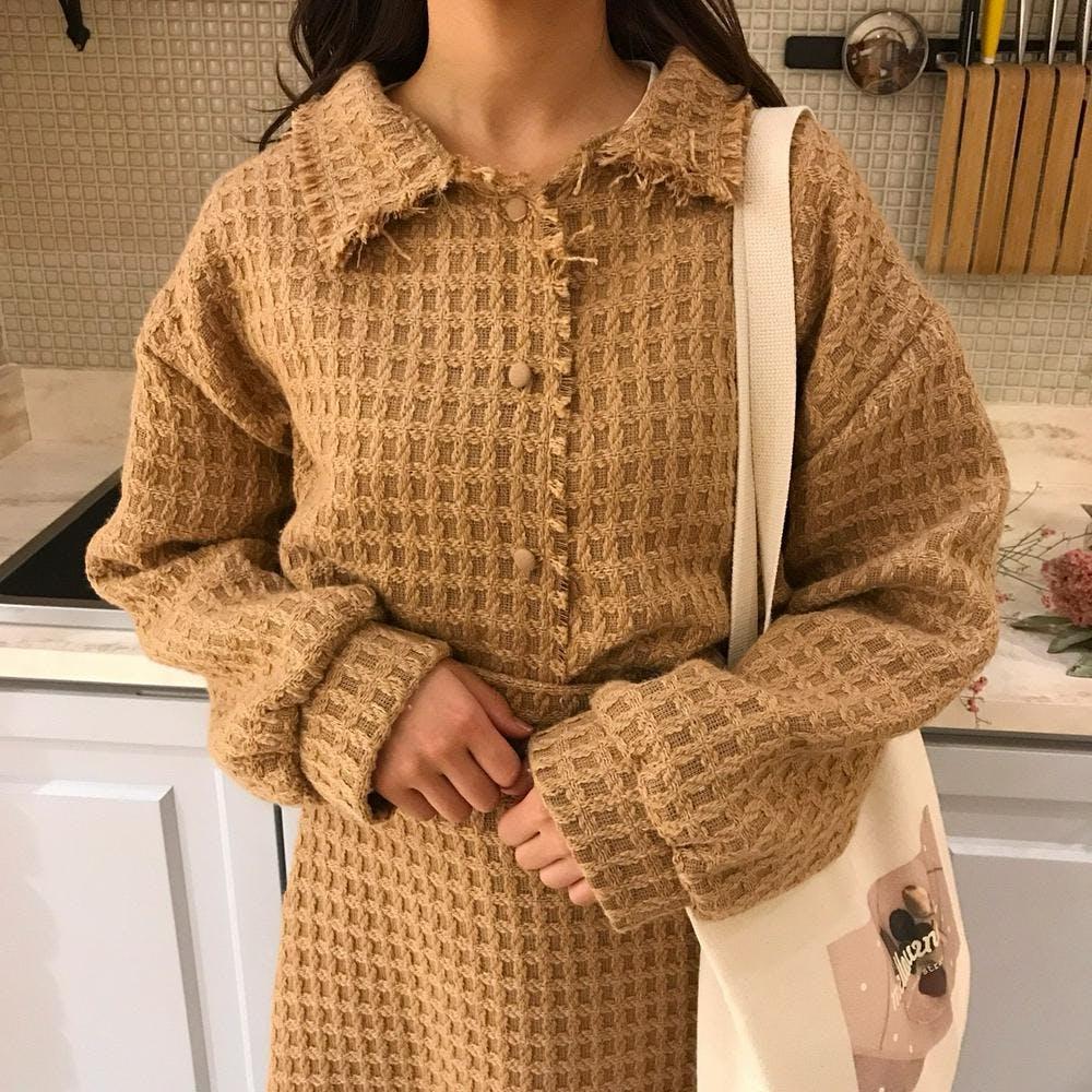 waffle jacket