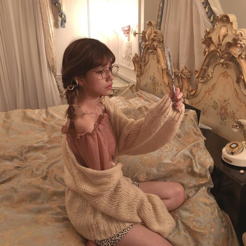 【2/12~順次発送】milk cardigan-0