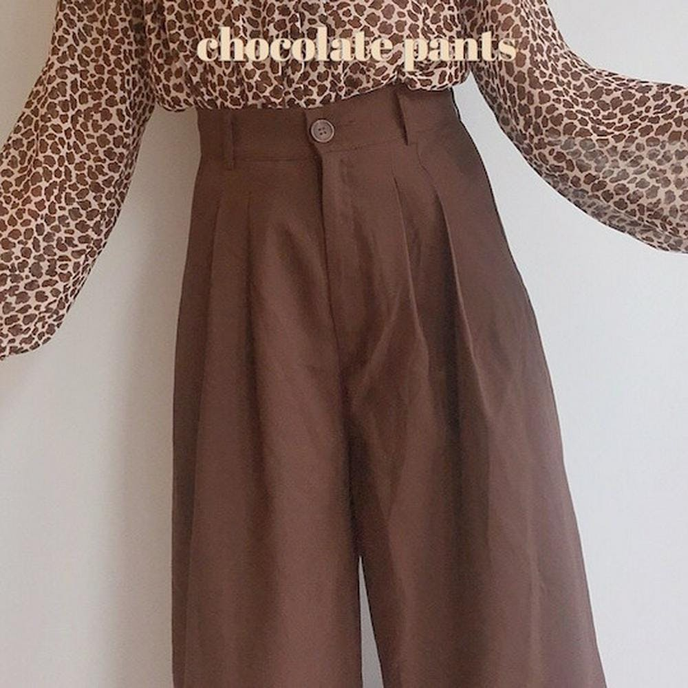 chocolate pants-0