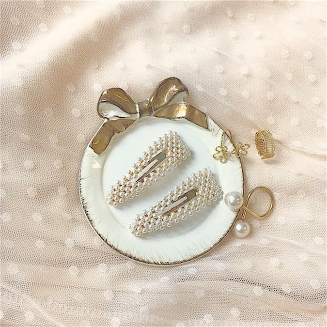 mini pearl pin set-0