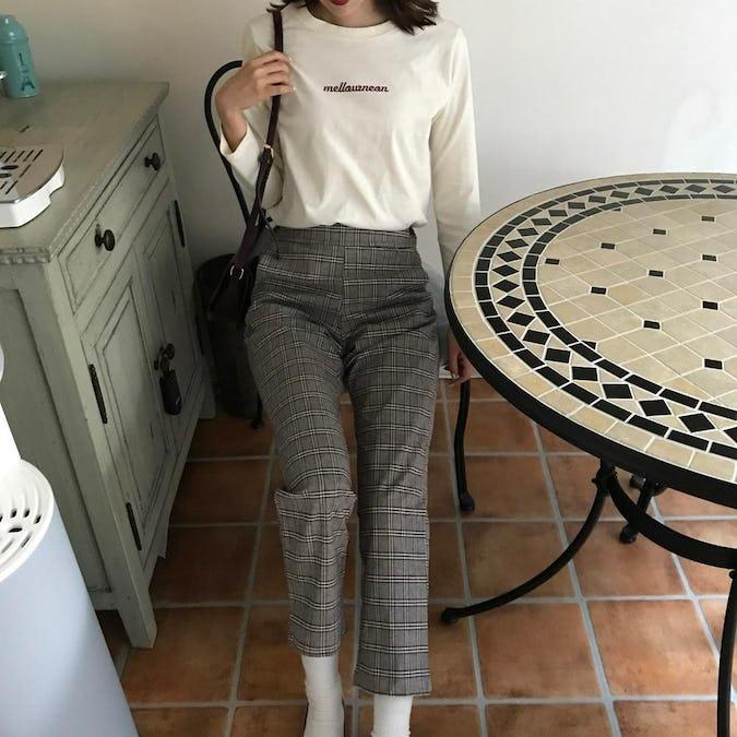 glencheck pants