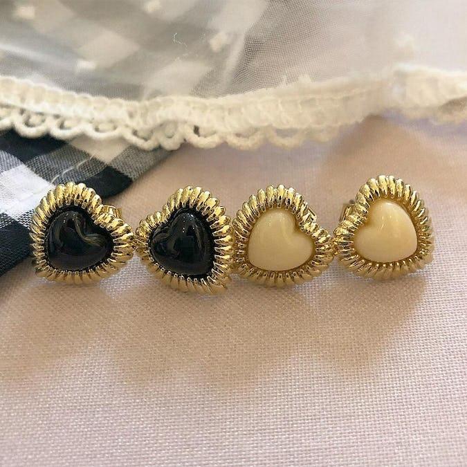 heart bling pierce