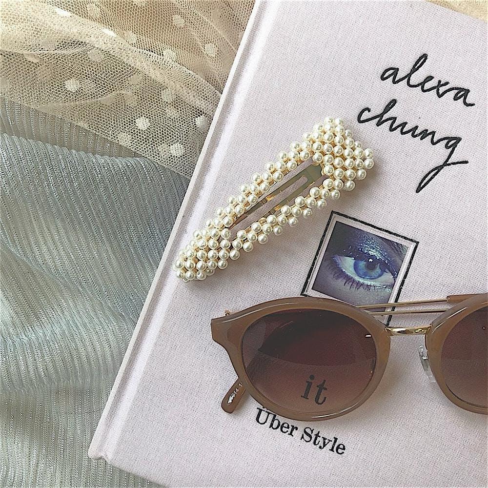【5/21~順次発送】big pearl pin