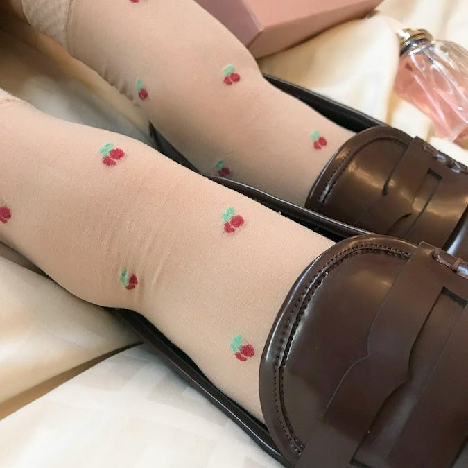 cherry socks set