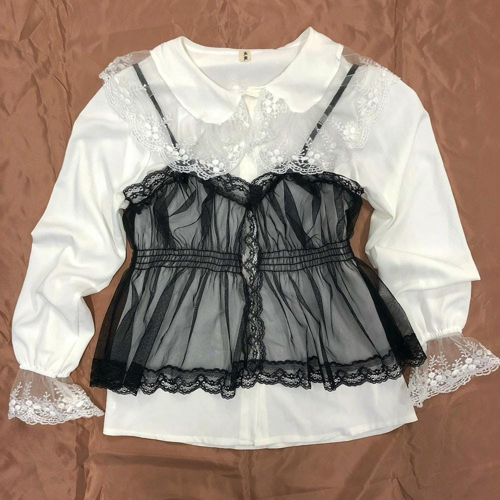 trend lacy cami