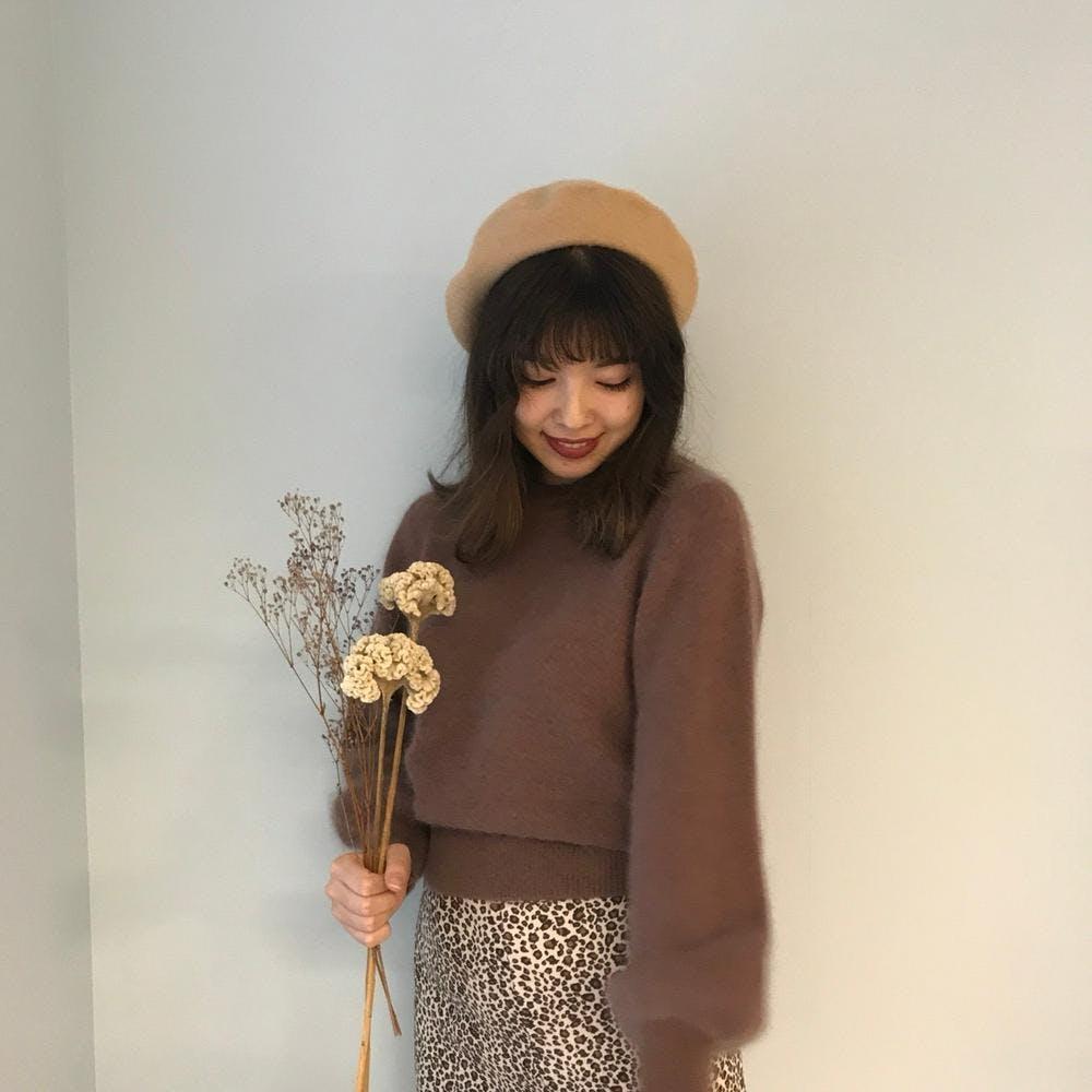 mohair fur knit