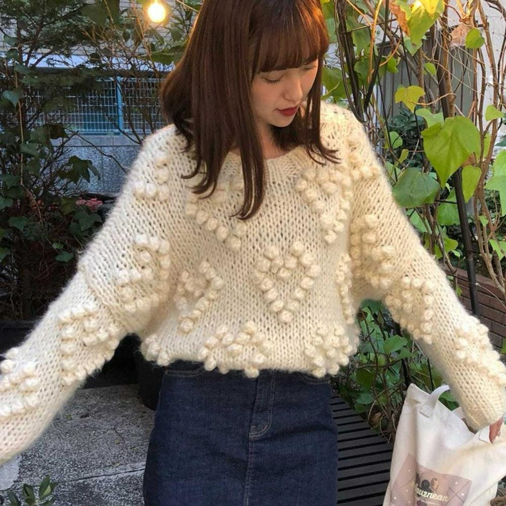 heart bell knit-0