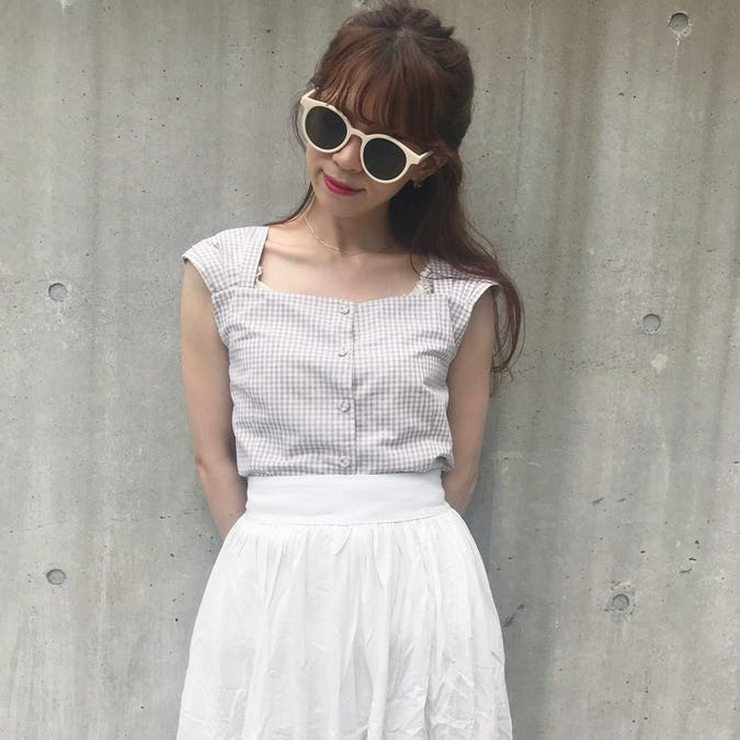 gingham ribbon no sleeve