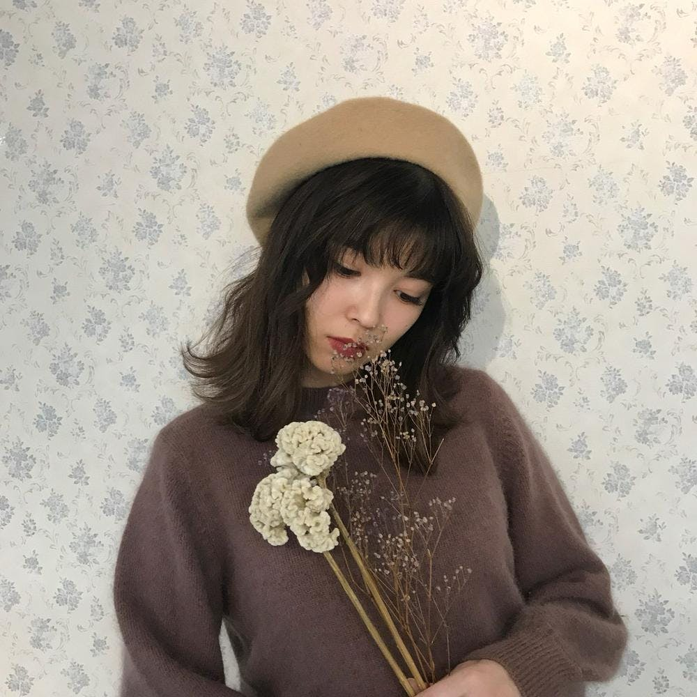 wool beret-0