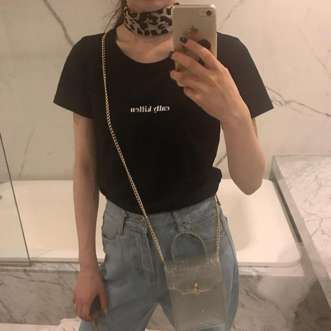 clear mini bag