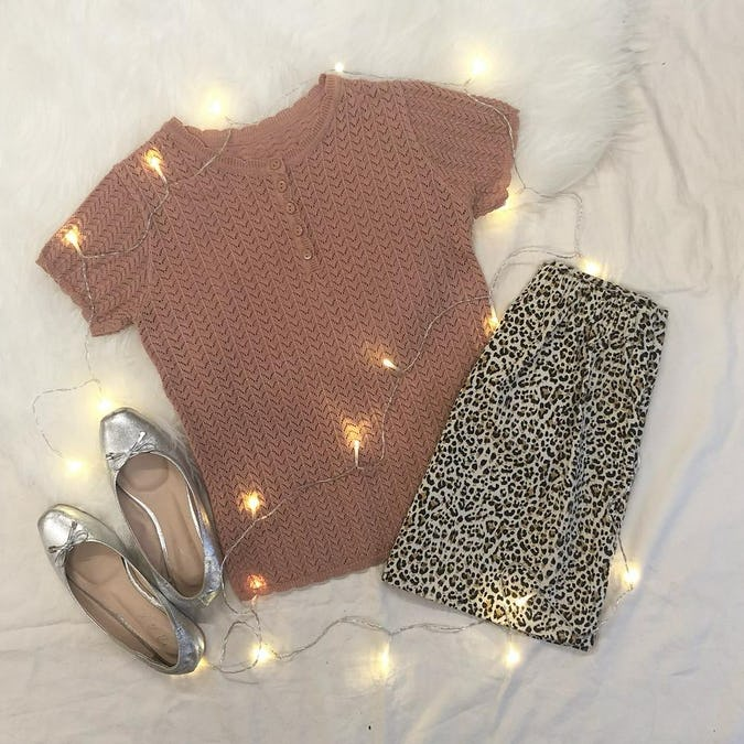 cable knit T