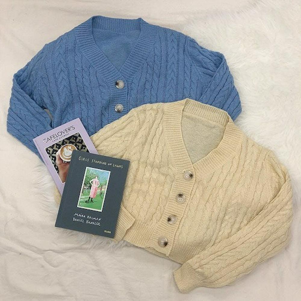 crob knit cardigan-0