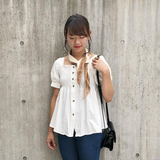 cutie square neck blouse