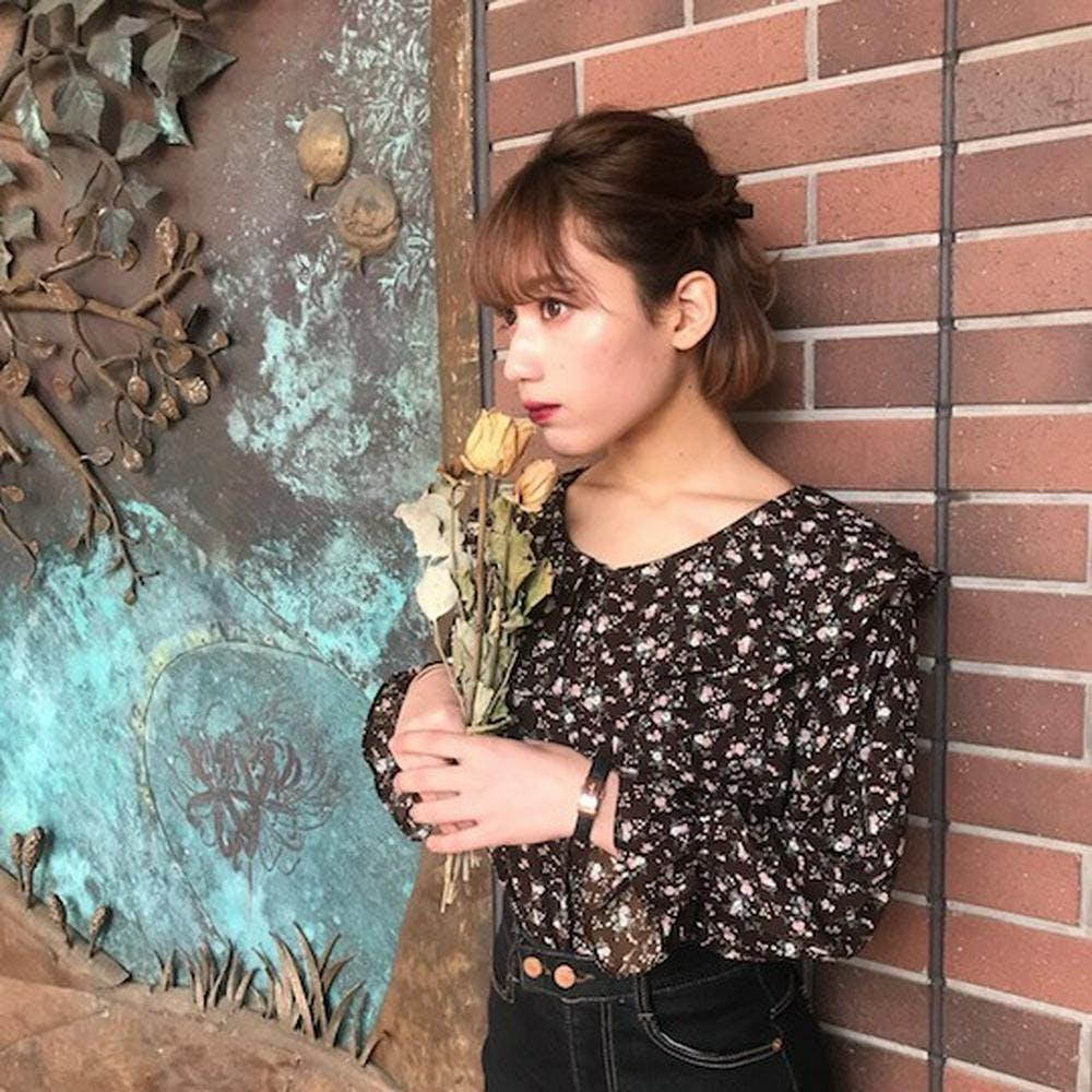 sailor flower blouse-0