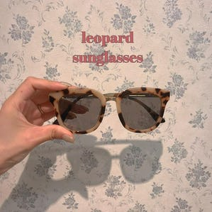 leopard sunglass