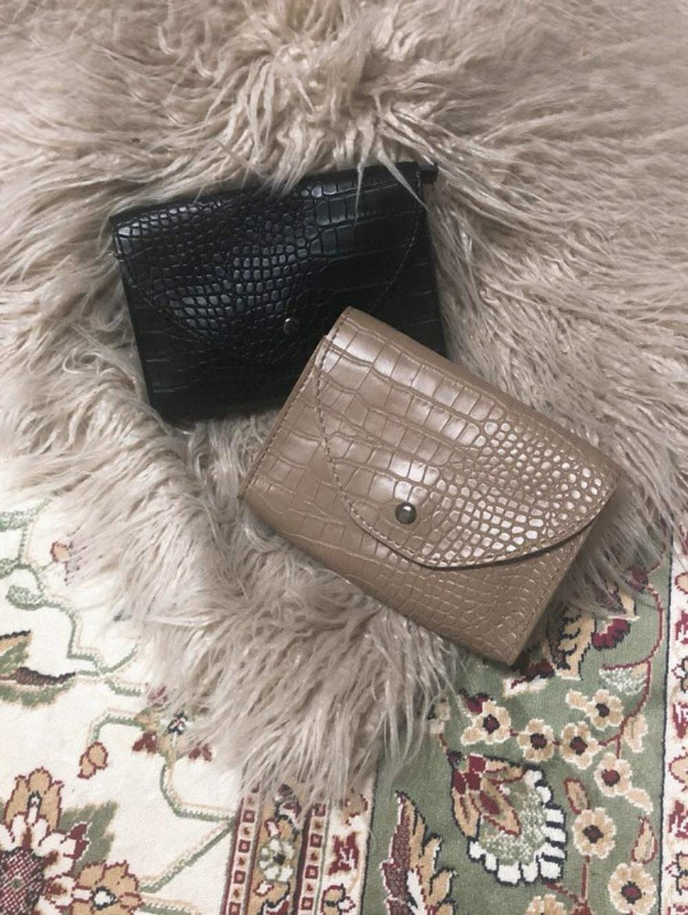 leather pocket bag