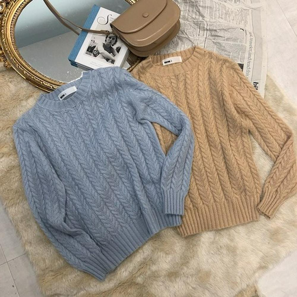 twisted knit