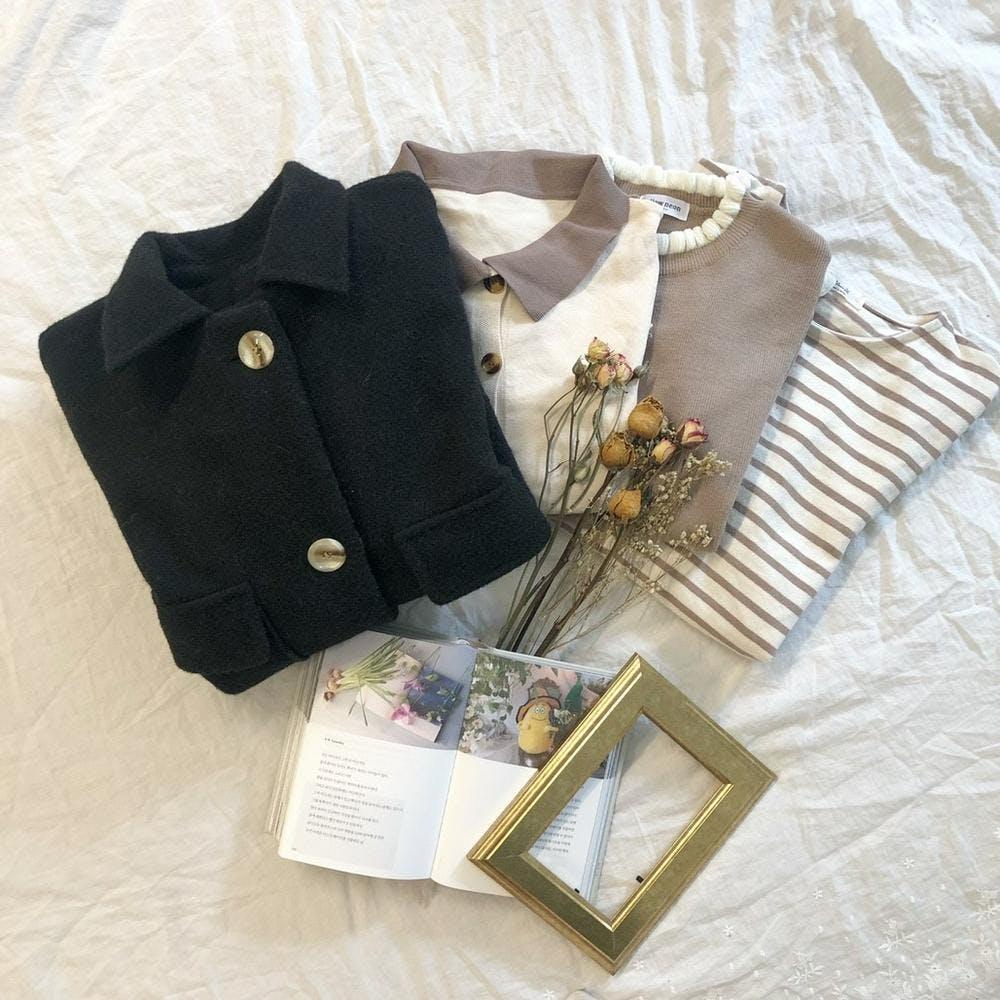 cashmere short coat-0
