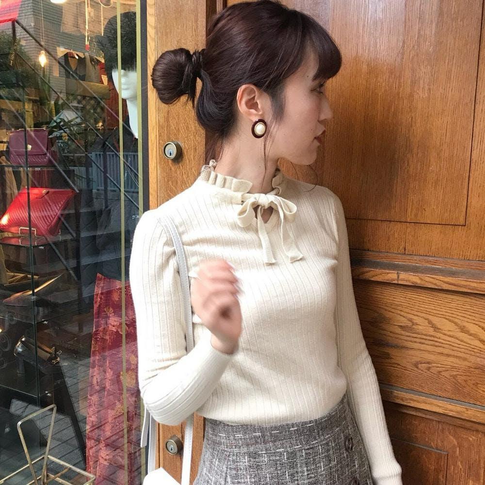 ribbon ribmellow knit