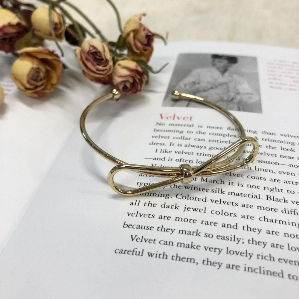 【5/21~順次発送】ribbon bracelet