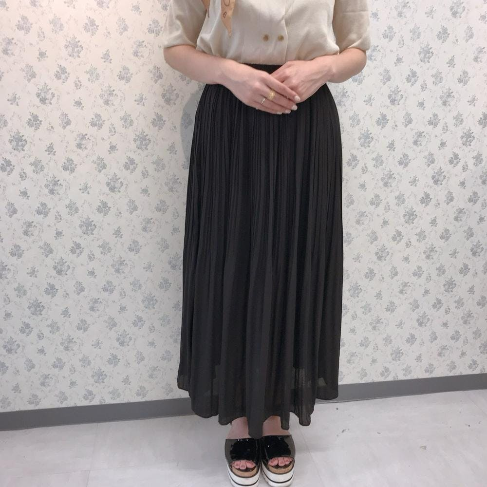 silky skirt-0