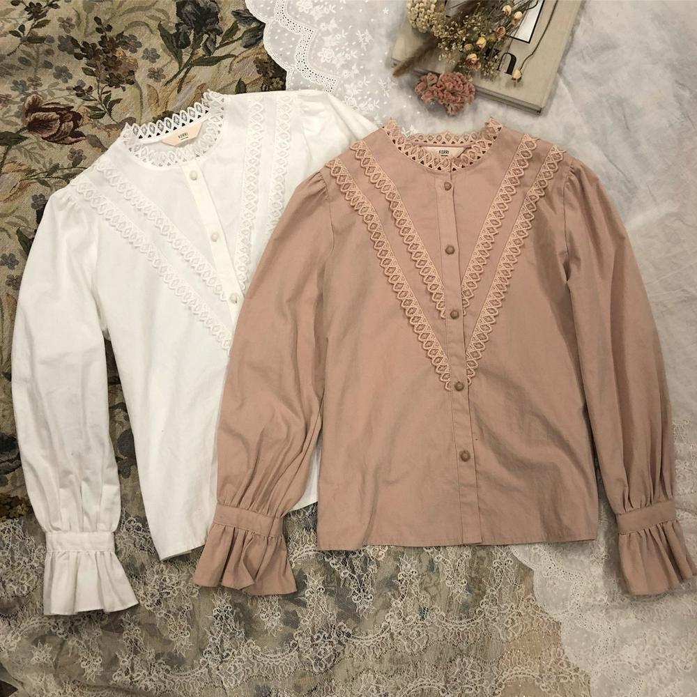 【5/21~順次発送】grace blouse